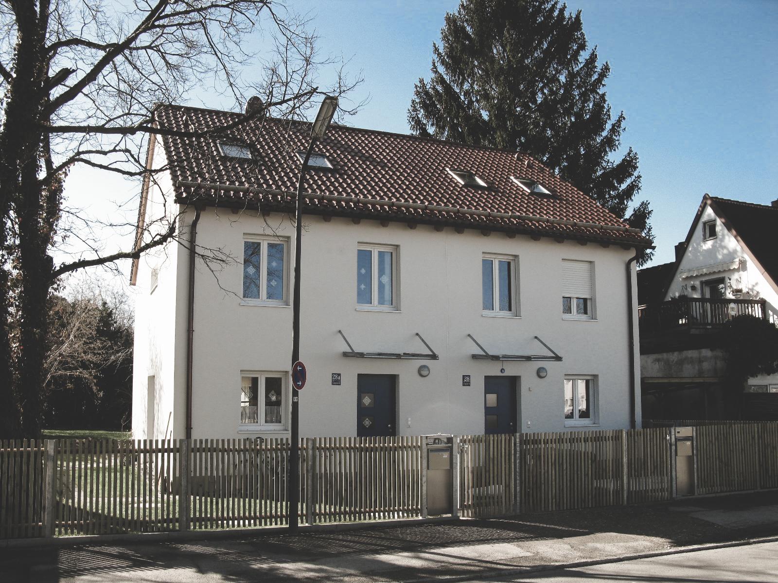 Planung Doppelhaus in München