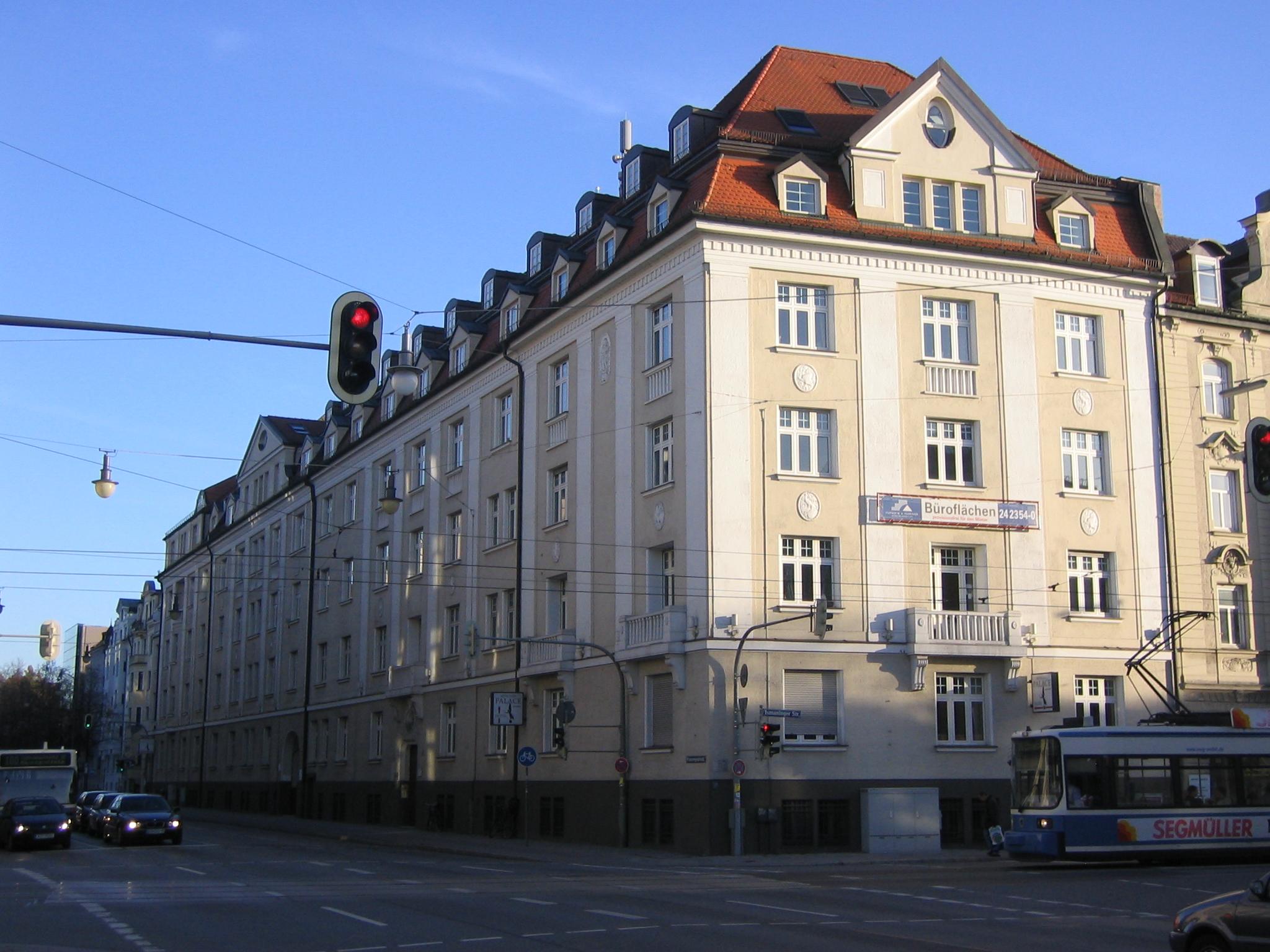 Planung Umbau Wohn- und Geschäftshaus in München