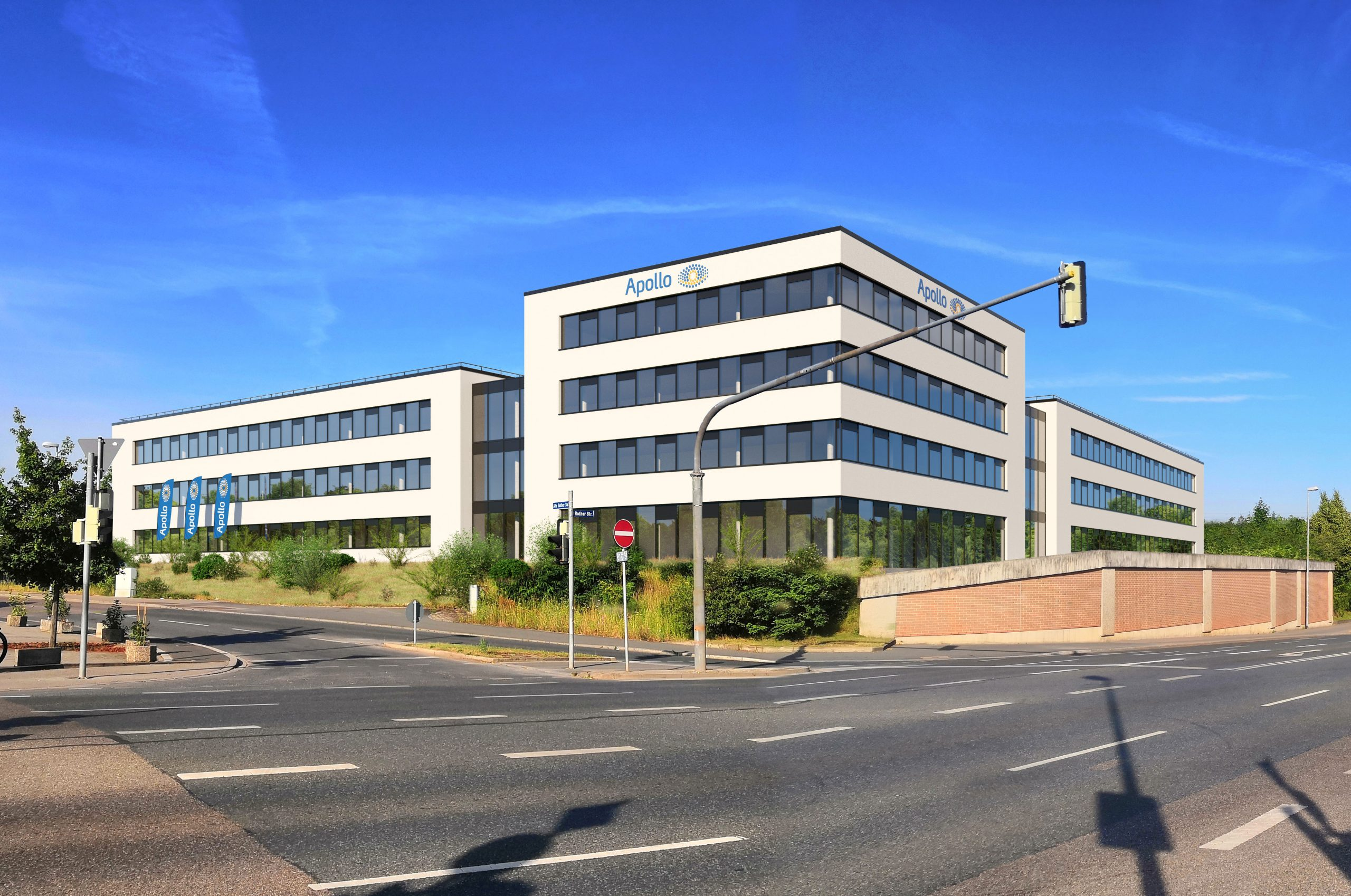 Projektentwiclung + Planung Headquarter Apollo in Schwabach